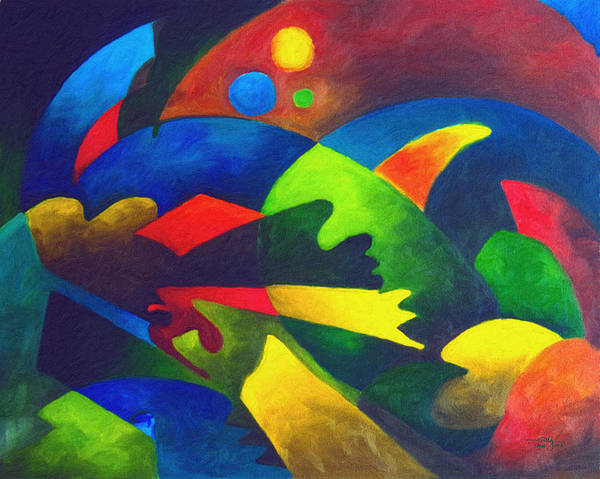 Painting - Fins by Sally Trace