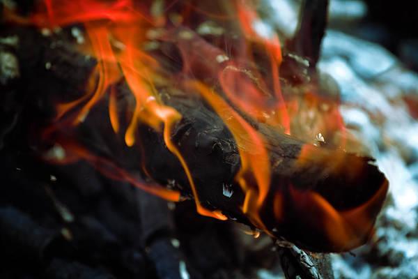 Flammable Wall Art - Digital Art - Fire Abstract by Modern Abstract