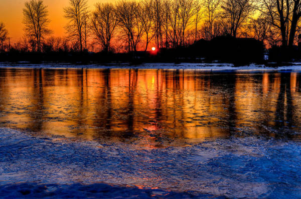 Wall Art - Photograph - Fire And Ice by Anna-Lee Cappaert