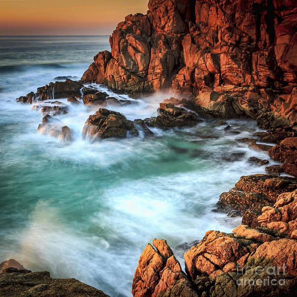 Photograph - Fire And Ice At Penencia Point Galicia Spain by Pablo Avanzini