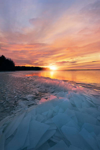 Wall Art - Photograph - Fire And Ice by Christian Lindsten