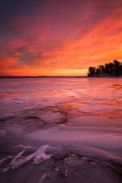 Photograph - Fire And Ice by Robert Clifford