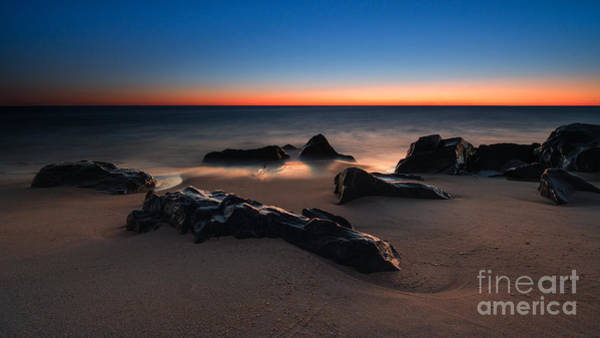 Sandy Hook Wall Art - Photograph - Fire And Ice Version 2 by Michael Ver Sprill