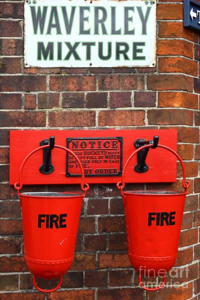 Photograph - Fire Buckets 2 by James Brunker