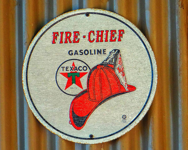 Vintage Fire Truck Painting - Fire Chief by Dennis Dugan