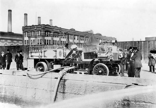 Photograph - Fire Engine, C1911 by Granger
