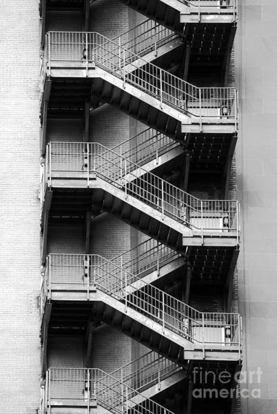 Photograph - Fire Escapes by James Brunker