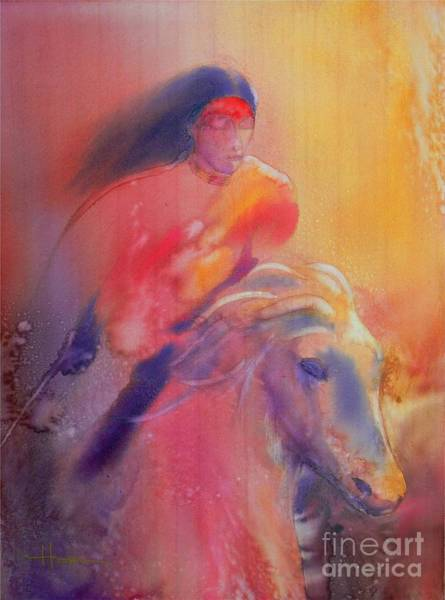 Native Painting - Fire Horse by Robert Hooper