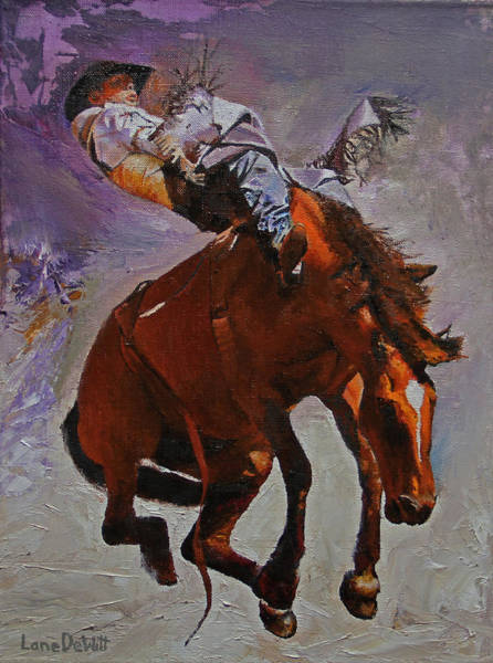 Prca Wall Art - Painting - Fire In The Hole by Lane DeWitt