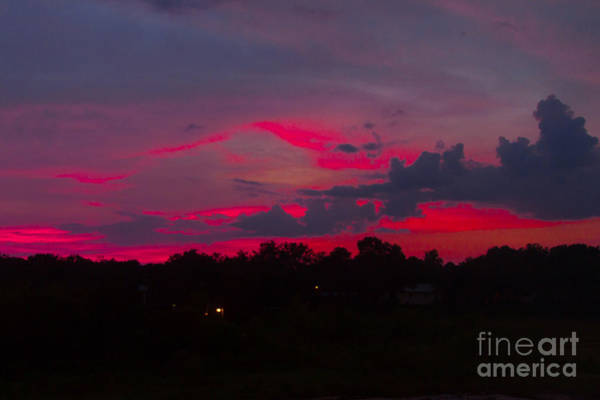 Photograph - Fire In The Sky by Heather Roper