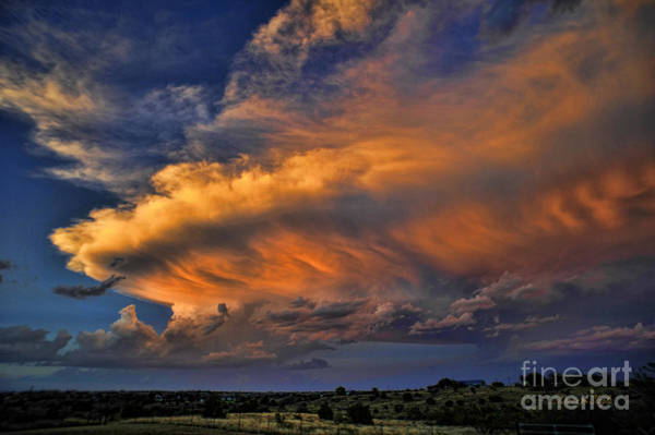 Fire In The Sky Wall Art - Photograph - Fire In The Sky by Karen Slagle