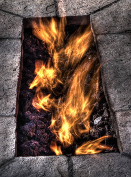 Flammable Wall Art - Photograph - Fire Is Life by Dimitry Papkov