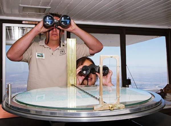 Forest Fire Photograph - Fire Lookout Volunteers by Jim West