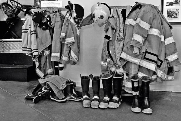 Photograph - Fire Museum Beaumont Tx by Christine Till