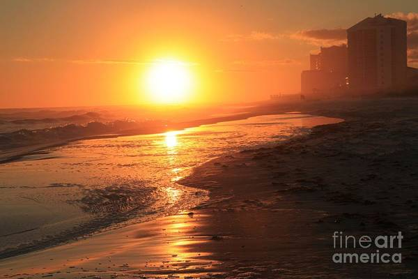 Photograph - Fire Over Perdido Key by Adam Jewell