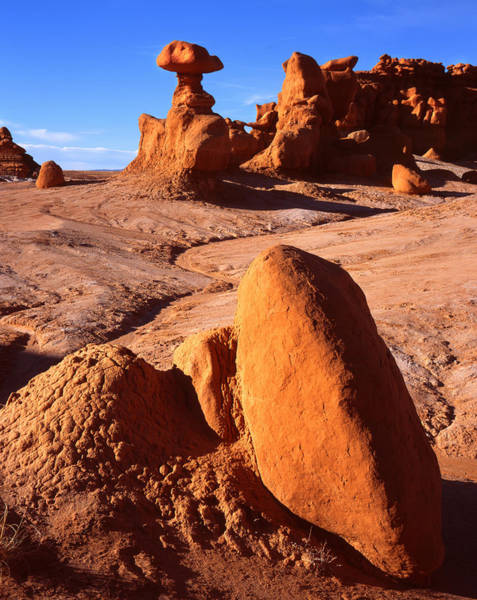 Goblin Valley State Park Photograph - Fire Rock by Ray Mathis