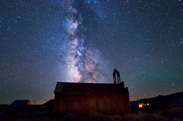 Wall Art - Photograph - Fire Station At Bodie by Cat Connor