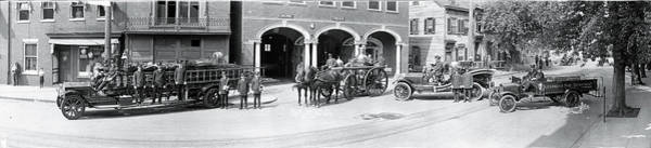 Fire Department Photograph - Fire Trucks Alexandria Va by Fred Schutz Collection