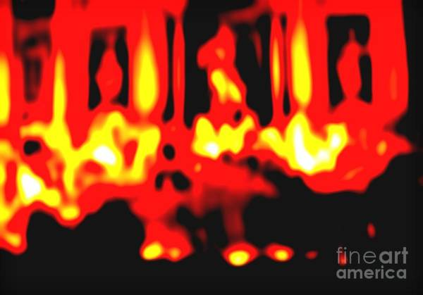 Trevi Fountain Digital Art - Fire Within by George Tatevossian