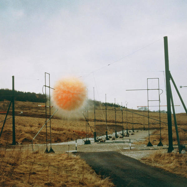 Mining Photograph - Fireball From Mining Explosive by Crown Copyright/health & Safety Laboratory /science Photo Library