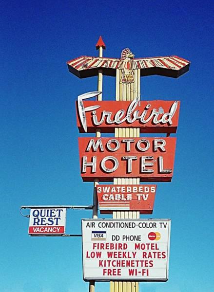 Photograph - Firebird Motor Hotel  by HW Kateley