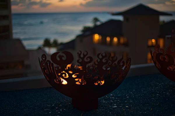 Photograph - Firebowl At Night by Dan McManus