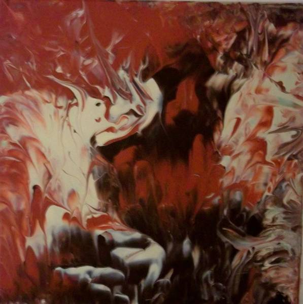 Stephen King Painting - Firedance by Stephen King