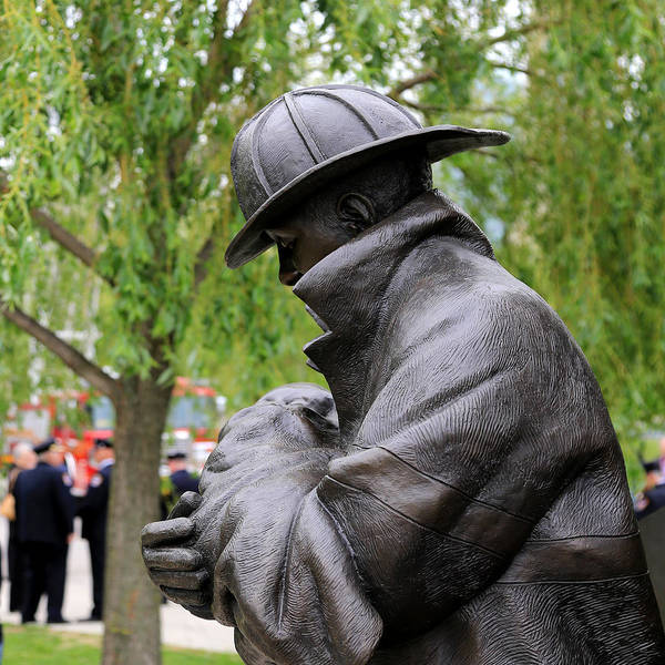 Photograph - Firefighter Memorial Toronto by Andrew Fare
