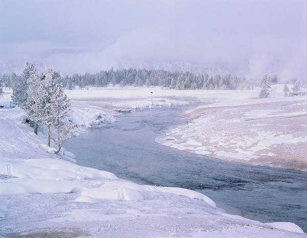 Firehole River Wall Art - Photograph - Firehole River by Simon Fraser/science Photo Library