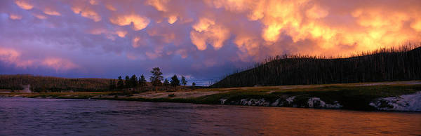 Firehole River Wall Art - Photograph - Firehole River Yellowstone National by Panoramic Images