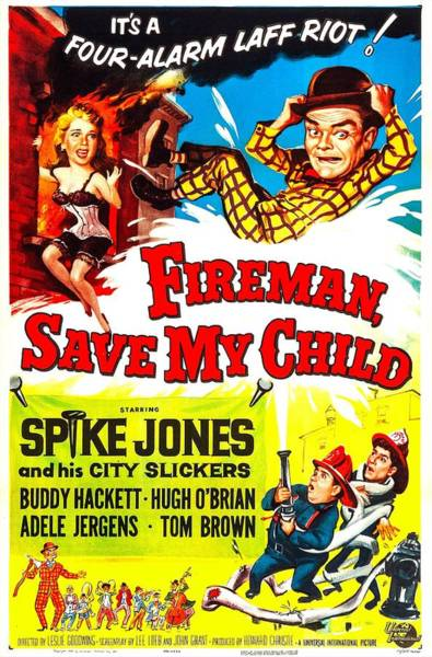 Hackett Photograph - Fireman, Save My Child, Us Poster, Top by Everett