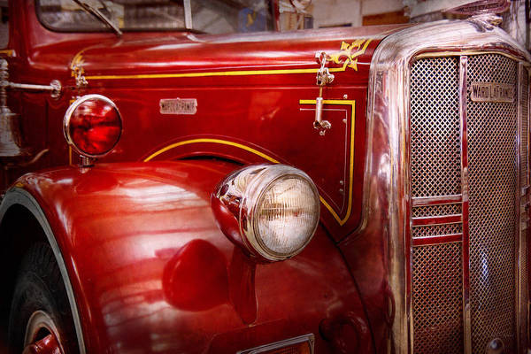 Photograph - Fireman - Ward La France  by Mike Savad