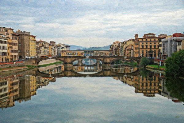 Painting - Firenze Italy Itl2060 by Dean Wittle