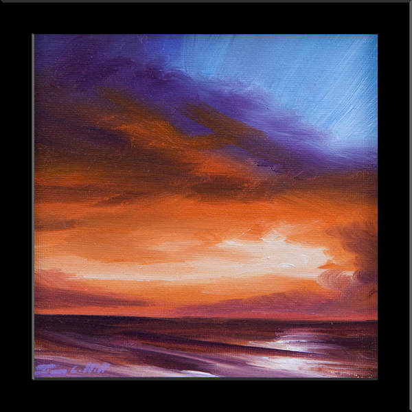 Painting - Firesun Sky by James Christopher Hill