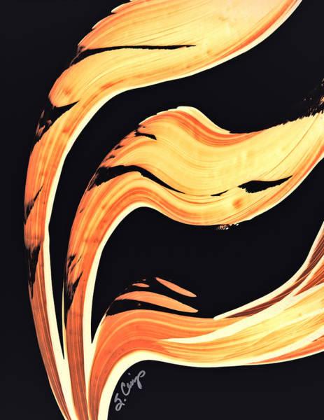 Painting - Firewater 6 - Warm Modern Art By Sharon Cummings by Sharon Cummings