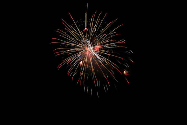 Wall Art - Photograph - Fireworks 1 by Marilyn Hunt