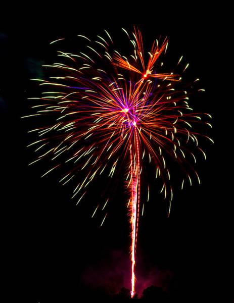 Wall Art - Photograph - Fireworks 11 by Paul Freidlund