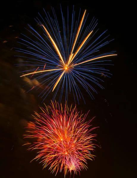 Digital Art - Fireworks 5 by Chris Flees