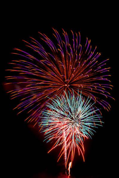 Wall Art - Photograph - Fireworks 5 by Paul Freidlund