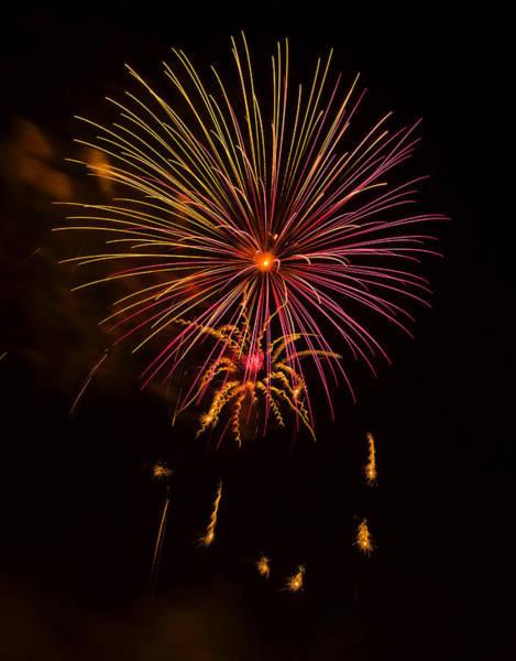 Digital Art - Fireworks 6 by Chris Flees