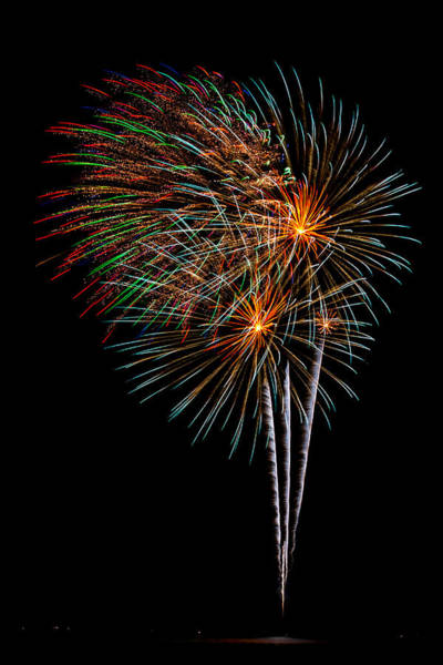 Wall Art - Photograph - Fireworks 8 by Paul Freidlund