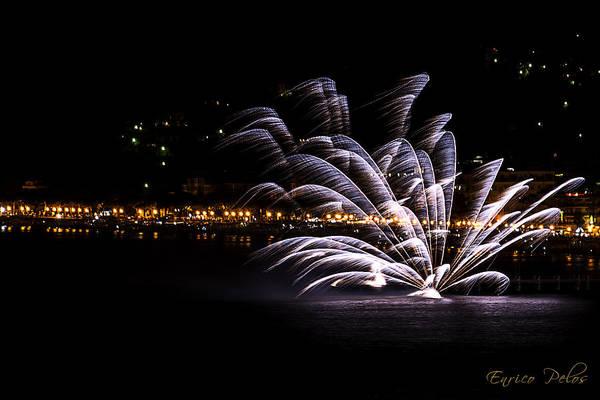 Photograph - Fireworks Alassio 2013 3521 - Ph Enrico Pelos by Enrico Pelos