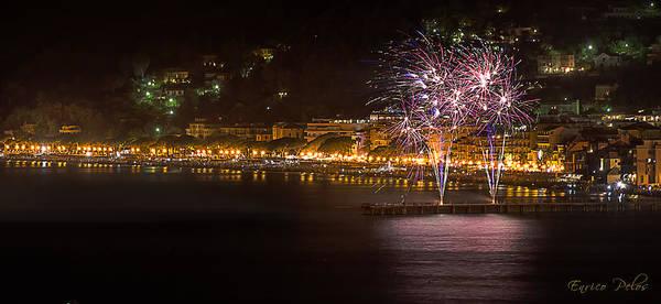Photograph - Fireworks Alassio 2013 3523 - Ph Enrico Pelos by Enrico Pelos