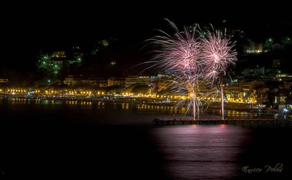 Photograph - Fireworks Alassio 2013 3528 - Ph Enrico Pelos by Enrico Pelos