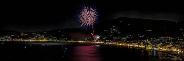 Photograph - Fireworks Alassio 2013 3535 - Ph Enrico Pelos by Enrico Pelos