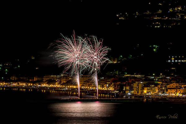 Photograph - Fireworks Alassio 2013 3538 - Ph Enrico Pelos by Enrico Pelos