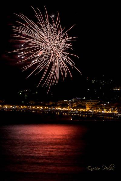 Photograph - Fireworks Alassio 2013 3541 - Ph Enrico Pelos by Enrico Pelos