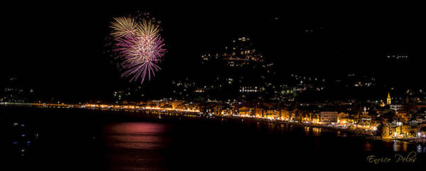 Photograph - Fireworks Alassio 2013 3547 - Ph Enrico Pelos by Enrico Pelos