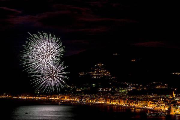 Photograph - Fireworks Alassio 2013 3573 - Ph Enrico Pelos by Enrico Pelos