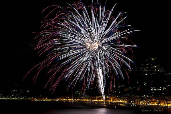 Photograph - Fireworks Alassio 2013 3593 - Ph Enrico Pelos by Enrico Pelos